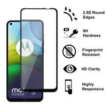 Load image into Gallery viewer, Motorola Moto G9 Power Tempered Glass Screen Protector - InvisiGuard Series (1-3 Pack)