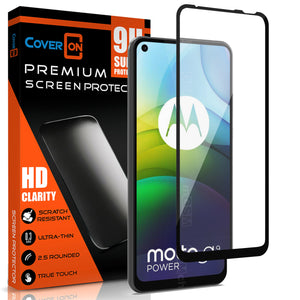 Motorola Moto G9 Power Tempered Glass Screen Protector - InvisiGuard Series (1-3 Pack)