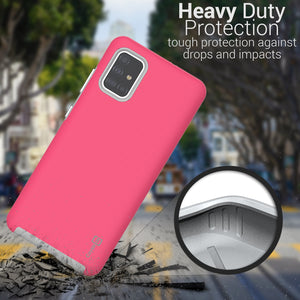 Samsung Galaxy A71 Case Protective Hybrid Phone Cover - Rugged Series