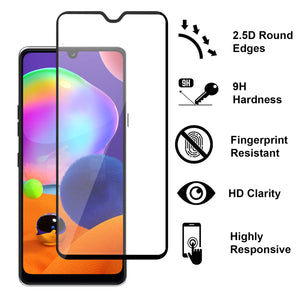 Samsung Galaxy A31 Case - Heavy Duty Shockproof Clear Phone Cover - EOS Series