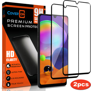 Samsung Galaxy A31 Tempered Glass Screen Protector - InvisiGuard Series (1-3 Pack)