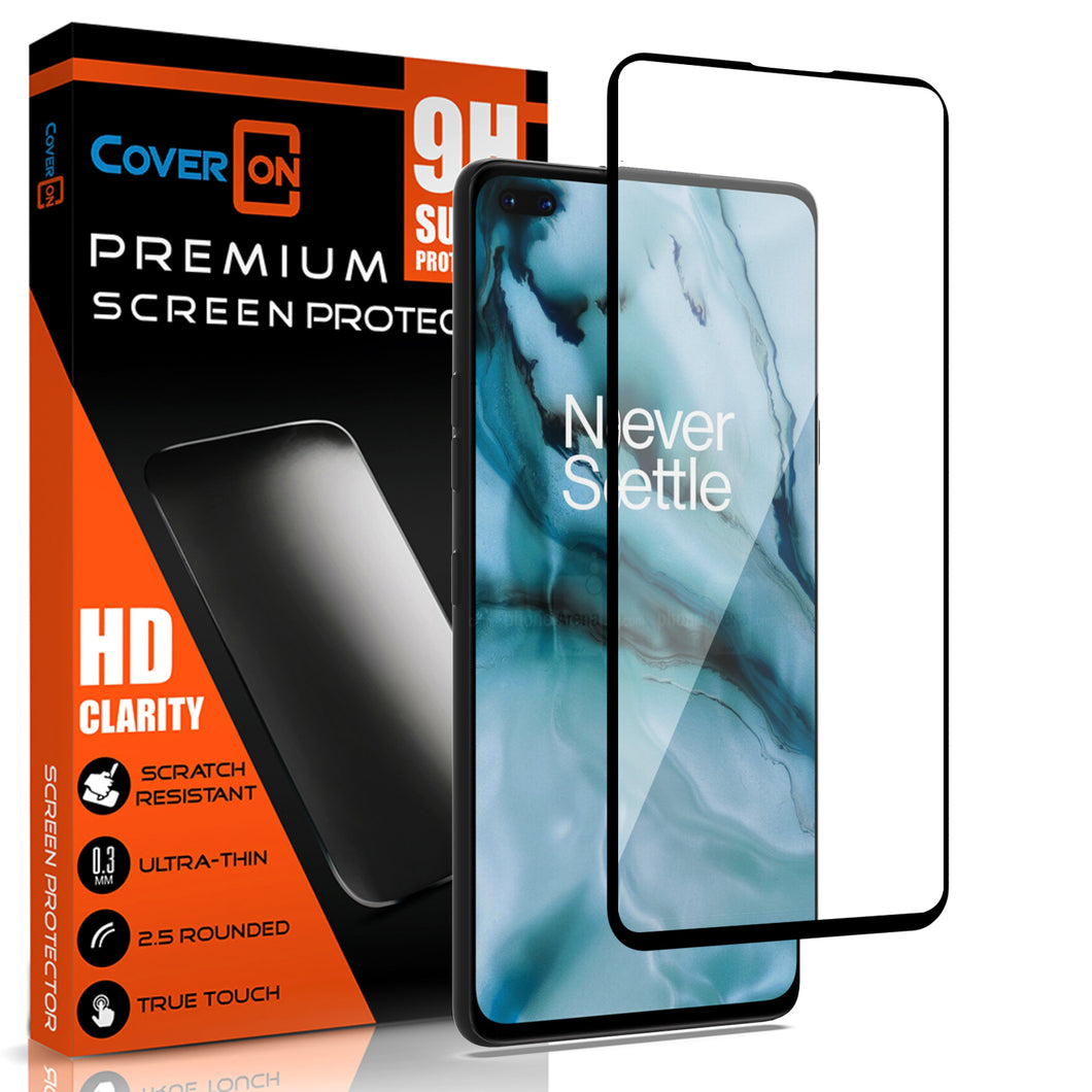OnePlus Nord Tempered Glass Screen Protector - InvisiGuard Series (1-3 Pack)