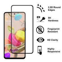Load image into Gallery viewer, LG Aristo 6 / K33 Tempered Glass Screen Protector - InvisiGuard Series (1-3 Pack)