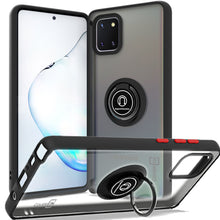 Load image into Gallery viewer, Samsung Galaxy Note 10 Lite / Galaxy A81 Case - Clear Tinted Metal Ring Phone Cover - Dynamic Series