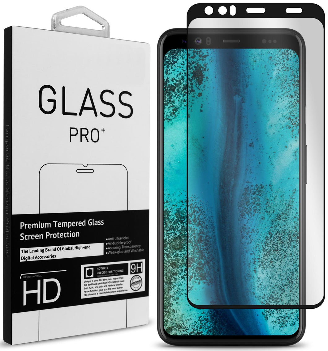 Google Pixel 4 Tempered Glass Screen Protector - InvisiGuard 2.0 Series