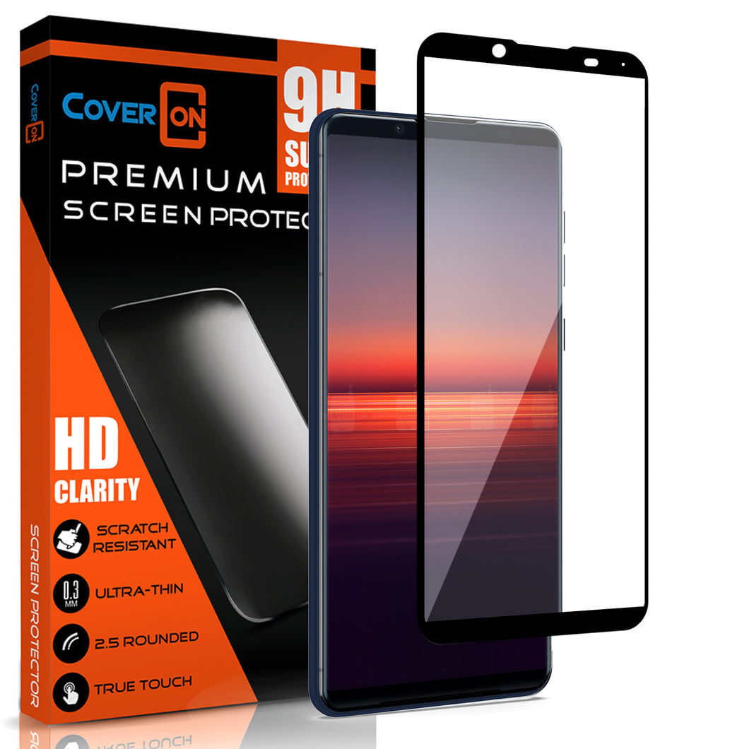 Sony Xperia 5 II Tempered Glass Screen Protector - InvisiGuard Series (1-3 Pack)