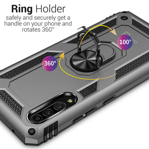 Samsung Galaxy A90 5G Case with Metal Ring - Resistor Series