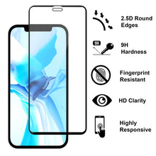 Load image into Gallery viewer, Apple iPhone 12 Pro / iPhone 12 Tempered Glass Screen Protector - InvisiGuard Series (1-3 Pack)