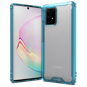 Samsung Galaxy S10 Lite / Galaxy A91 Clear Case Hard Slim Protective Phone Cover - Pure View Series