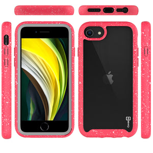 Apple iPhone SE 2020 / iPhone 8 / iPhone 7 Case - Heavy Duty Shockproof Clear Phone Cover - EOS Series