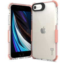 Load image into Gallery viewer, Apple iPhone SE 2020 / iPhone 8 / iPhone 7 Clear Case - Protective TPU Rubber Phone Cover - Collider Series