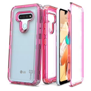LG K51 / Reflect Clear Case - Full Body Tough Military Grade Shockproof Phone Cover