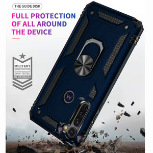 Motorola Moto G Stylus Case with Metal Ring - Resistor Series
