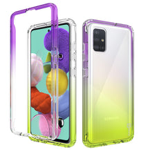 Load image into Gallery viewer, Samsung Galaxy A51 Clear Case Full Body Colorful Phone Cover - Gradient Series