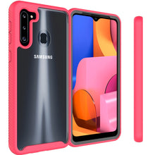 Load image into Gallery viewer, Samsung Galaxy A21 Case - Heavy Duty Shockproof Clear Phone Cover - EOS Series