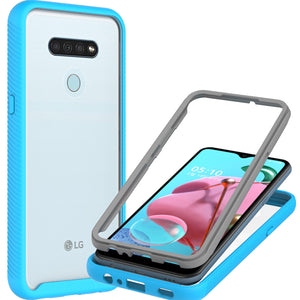 LG Stylo 6 Case - Heavy Duty Shockproof Clear Phone Cover - EOS Series