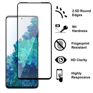 Samsung Galaxy S20 FE / Galaxy S20 FE 5G / Galaxy S20 Fan Edition / Galaxy S20 Lite Tempered Glass Screen Protector - InvisiGuard Series (1-3 Pack)
