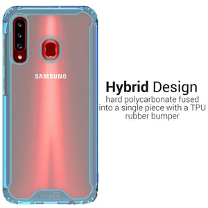 Samsung Galaxy A20s Clear Case Hard Slim Protective Phone Cover - Pure View Series