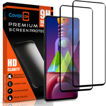 Load image into Gallery viewer, Samsung Galaxy M51 Tempered Glass Screen Protector - InvisiGuard Series (1-3 Pack)