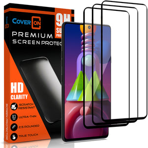 Samsung Galaxy M51 Tempered Glass Screen Protector - InvisiGuard Series (1-3 Pack)
