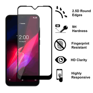 TCL T-Mobile Revvl 4 Tempered Glass Screen Protector - InvisiGuard Series (1-3 Pack)