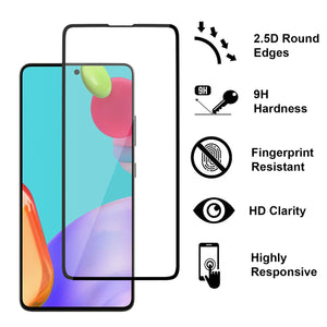 Samsung Galaxy A52 5G Tempered Glass Screen Protector - InvisiGuard Series (1-3 Pack)