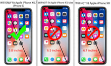 Load image into Gallery viewer, iPhone XS / iPhone X Tempered Glass Screen Protector - InvisiGuard Series