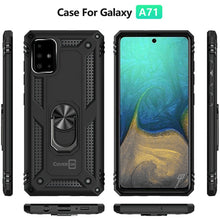 Load image into Gallery viewer, Samsung Galaxy A71 Case with Metal Ring - Resistor Series