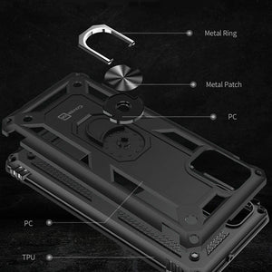 Samsung Galaxy A71 Case with Metal Ring - Resistor Series