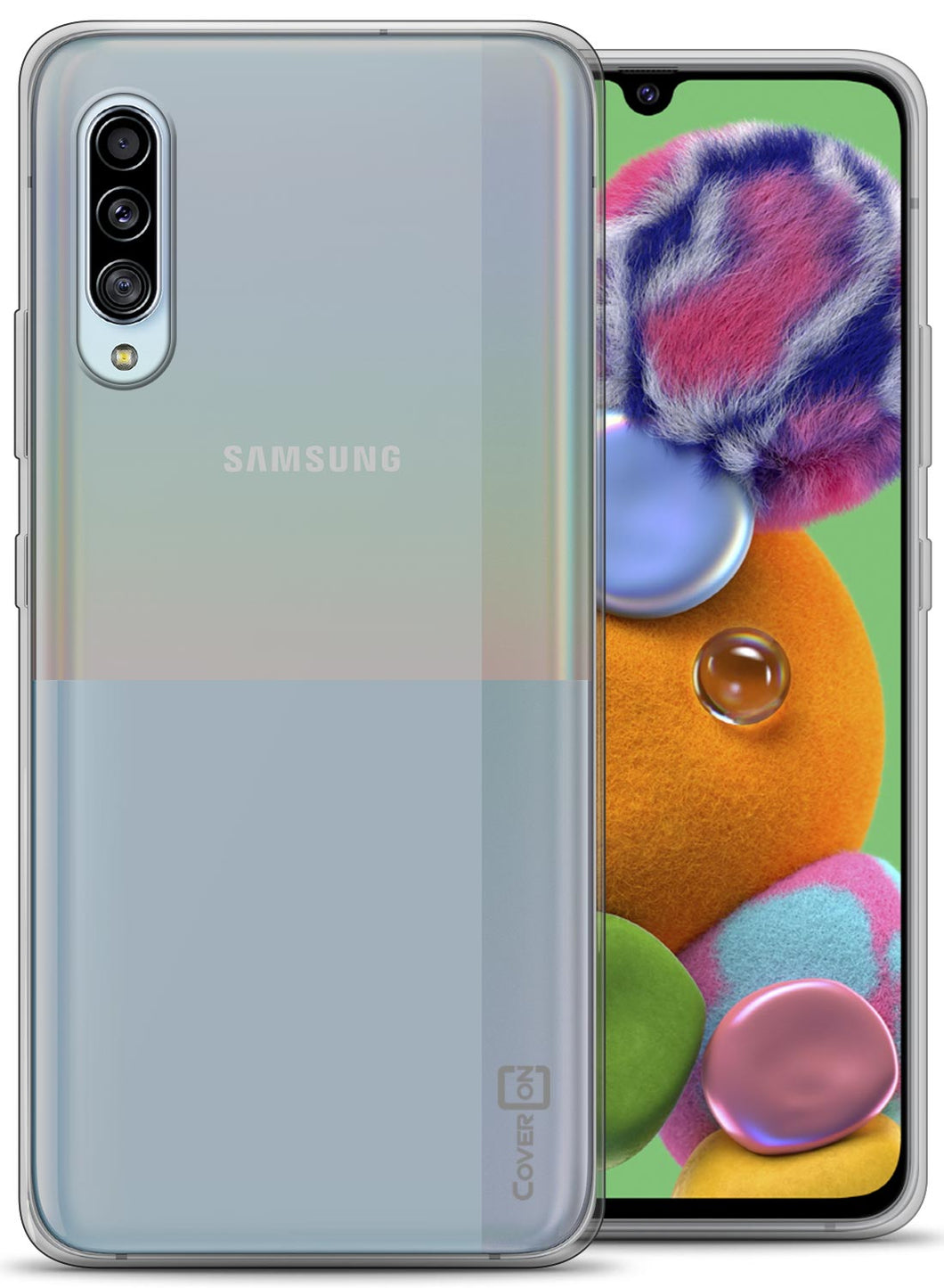 Samsung Galaxy A90 5G Case - Slim TPU Rubber Phone Cover - FlexGuard Series
