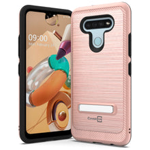 Load image into Gallery viewer, LG K51 / Reflect Case - Metal Kickstand Hybrid Phone Cover - SleekStand Series