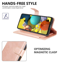 Load image into Gallery viewer, Samsung Galaxy A51 5G Wallet Case - RFID Blocking Leather Folio Phone Pouch - CarryALL Series
