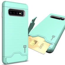 Load image into Gallery viewer, Samsung Galaxy S10 Case with Card Holder Kickstand - SecureCard Series