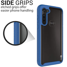 Load image into Gallery viewer, Motorola Moto G8 Power Case - Heavy Duty Shockproof Clear Phone Cover - EOS Series