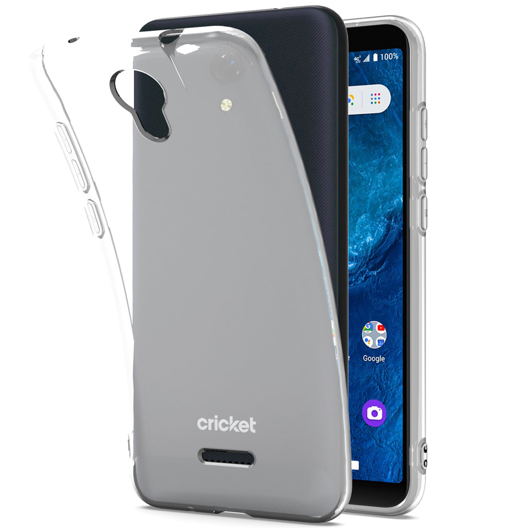 Cricket Icon 2 Case - Slim TPU Silicone Phone Cover - FlexGuard Series