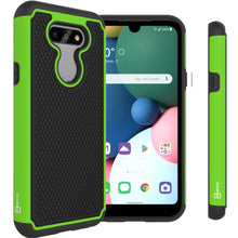 Load image into Gallery viewer, LG Tribute Monarch / Risio 4 / K8x Case - Heavy Duty Protective Hybrid Phone Cover - HexaGuard Series