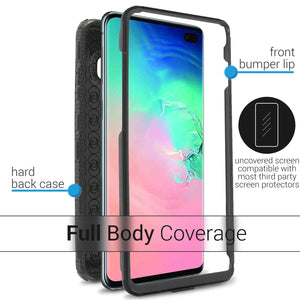Samsung Galaxy S10 Plus Case - Heavy Duty Shockproof Phone Cover - Tank Series