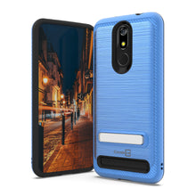 Load image into Gallery viewer, MicroMax T55 Case - Metal Kickstand Hybrid Phone Cover - SleekStand Series