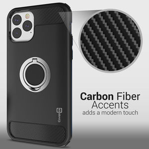 iPhone 11 Pro Max Case with Ring - Magnetic Mount Compatible - RingCase Series