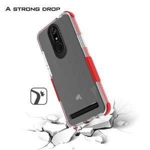 MicroMax T55 Clear Case - Protective TPU Rubber Phone Cover - Collider Series
