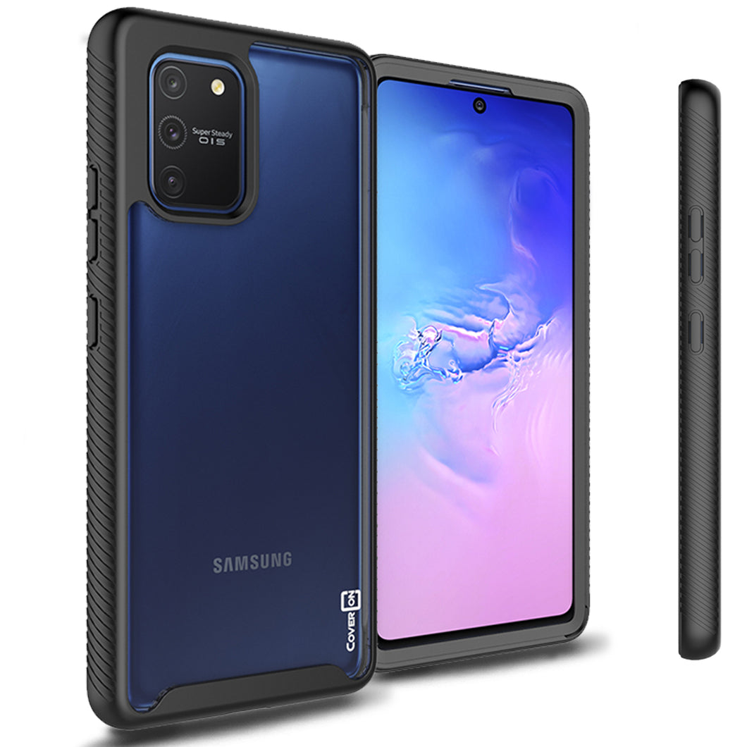 Samsung Galaxy S10 Lite / Galaxy A91 Case - Heavy Duty Shockproof Clear Phone Cover - EOS Series
