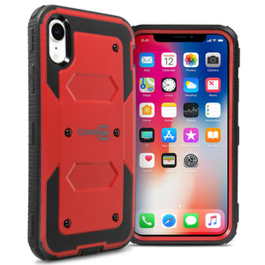 iPhone XR Case - Heavy Duty Shockproof Phone Cover - Tank Series