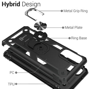 Samsung Galaxy S20 Case with Metal Ring - Resistor Series