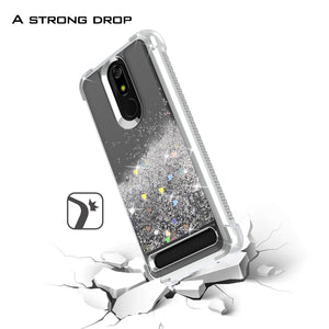 MicroMax T55 Case - Liquid Glitter TPU Phone Cover - Sparkle Series