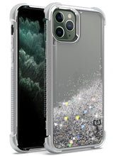 Load image into Gallery viewer, iPhone 11 Pro Max Case - Liquid Glitter TPU Phone Cover - Sparkle Series