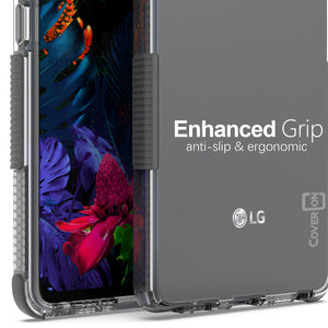 LG Stylo 6 Clear Case - Protective TPU Rubber Phone Cover - Collider Series