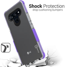 Load image into Gallery viewer, LG Stylo 6 Clear Case - Protective TPU Rubber Phone Cover - Collider Series