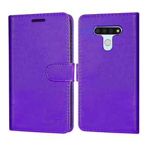 LG Stylo 6 Wallet Case - RFID Blocking Leather Folio Phone Pouch - CarryALL Series