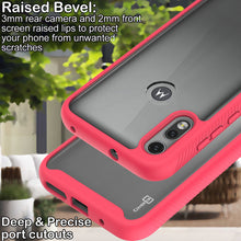 Load image into Gallery viewer, Motorola Moto E (2020) Case - Heavy Duty Shockproof Clear Phone Cover - EOS Series