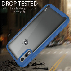 Motorola Moto E (2020) Case - Heavy Duty Shockproof Clear Phone Cover - EOS Series
